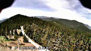 Flying FPV Race Quad Drone Diving Mountains And Trees With Runcam Footage
