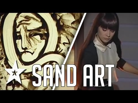 Kseniya Simonova Tells Stories With Sand Art