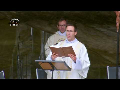 Messe du 15 mai 2020 à Lourdes