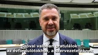 Luka Visentini üdvözli a 30 éves LIGA Szakszervezeteket