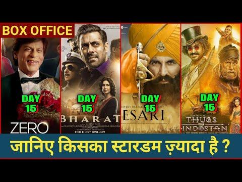 Bharat Box Office Vs Kesari vs Thugs Vs Zero, Salman Khan, Akshay Kumar, Aamir Khan, Shahrukh Khan