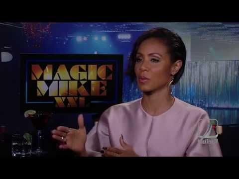 Magic Mike XXL Jada Pinkett Smith Interview