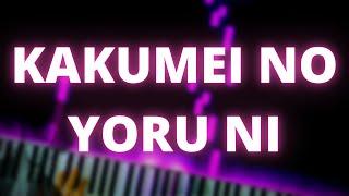 Kakumei No Yoru Ni - Linked Horizon (Short Ver.) Piano Visualizer Cover | ThePianist06