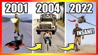 Evolution of MILITARY LOGIC in GTA Games (2001-2021)