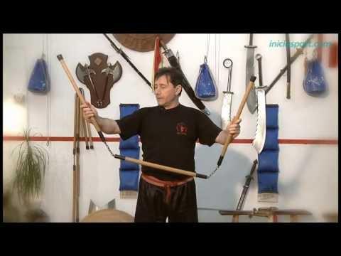 Kung Fu 9. Palo de tres secciones (armas)