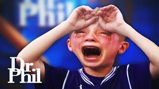 Dr Phil Loses Temper With This Kid...
