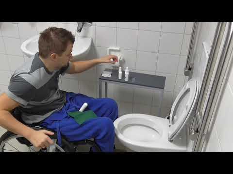 IQ-Cath 31 – Gel-Einmalkatheter, Funktionsfolie zur direkten Ableitung in die Toilette