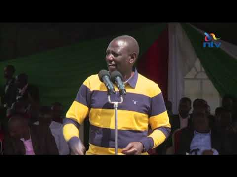 Ruto refutes reports of divisions within Jubilee party