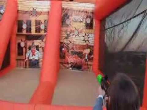 Einflatables Gunsmoke Shooting Gallery