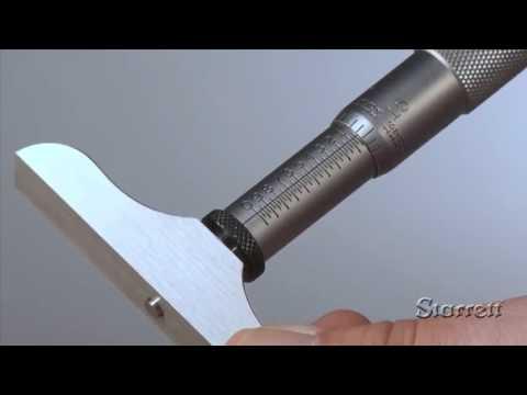 Como usar micrómetro de profundidad