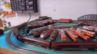 Modelleisenbahn Railjet und CityShuttle