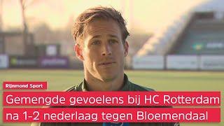 Gevoel van trots en teleurstelling bij HC Rotterdam na gemiste kans tegen koploper Bloemendaal (1...
