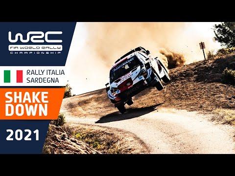 WRC 2021 第5戦ラリー・イタリア シェイクダウンハイライト動画