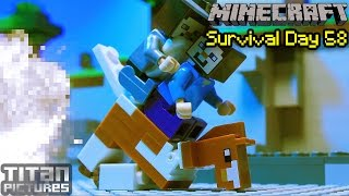 Lego Minecraft Survival 58 - Stronghold