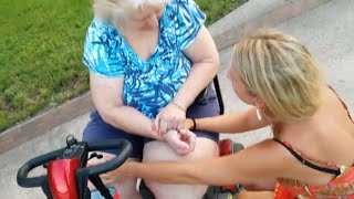 Catchy Faith: Lady BOUND TO WHEELCHAIR with NO FEELING IN HER LEGS for 12 years healed by Jesus !!