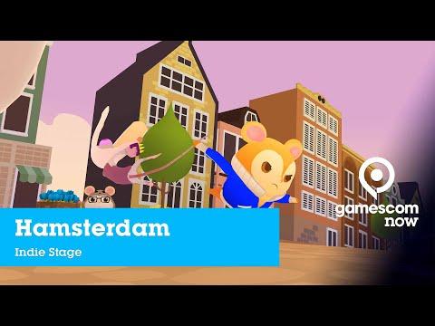 #gamescom2019 - Hamsterdam - Gameplay Demo | Indie Stage mit Rocket Beans