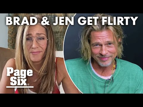 Brad Pitt and Jennifer Aniston get flirty during 'Fast Times' read | Page Six Celebrity News