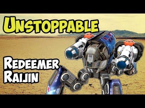 War Robots New UNSTOPPABLE Redeemer Raijin Gamplay Analysis