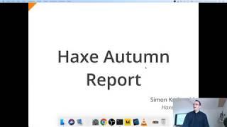 Simon Krajewski - Haxe Status Report