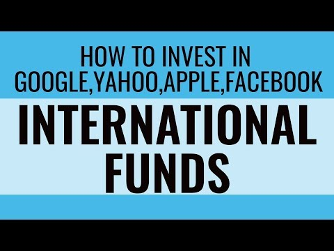 Should you invest in International Funds   Investment in Google,Facebook,Amazon