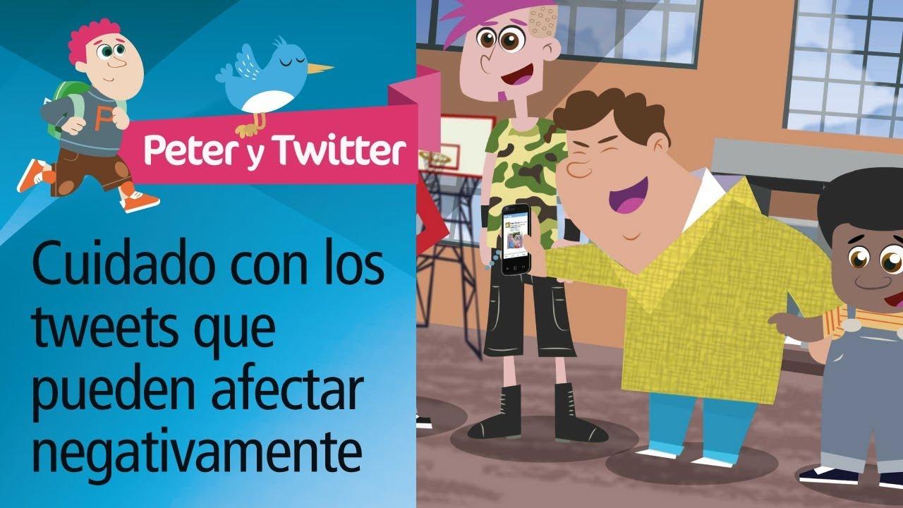 "Consejo 7: ""El bocata"". Decálogo uso responsable Twitter. PantallasAmigas"