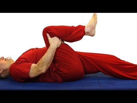Übungen für das Hüftgelenk des Patienten
