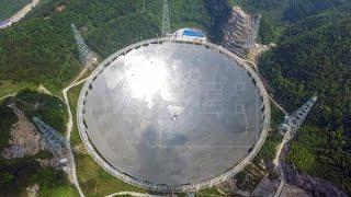 中国贵州,世界最大球面射电望远镜(F.A.S.T)10天后即将竣工 160914