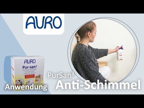 AURO Anwendung Pur-san3 -Das Anti-Schimmel-System-