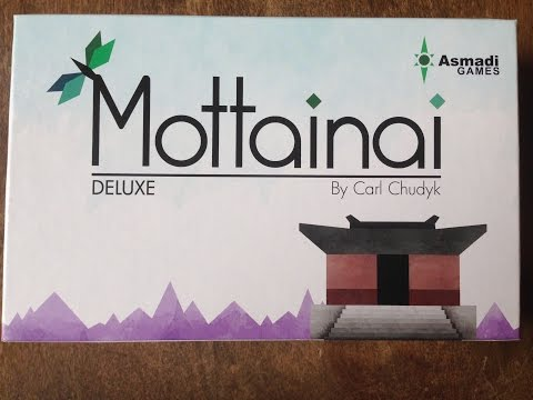 Bonding With Board Games: The Chief Review Mottainai