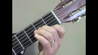 """""""Renaissance Faire"""" partial chord etude - left hand closeup"""