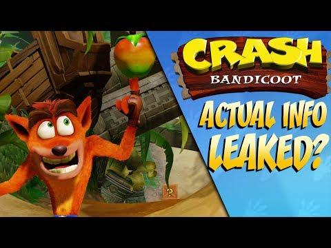 New ACTUAL Crash Bandicoot Leaks Emerge?