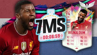 HUGE PACK PULL!!! SUMMER HEAT WIJNALDUM 7 MINUTE SQUAD BUILDER with Jack54HD!! FIFA 20 ULTIMATE TEAM