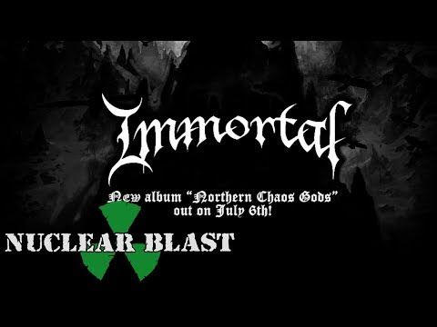 IMMORTAL - Mighty Ravendark (OFFICIAL LYRIC VIDEO) online metal music video by IMMORTAL