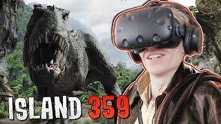DINOSAUR SHOOTER GAME IN VIRTUAL REALITY! | Island 359 VR (HTC Vive Gameplay)