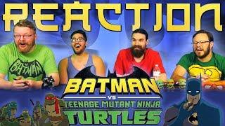 Batman vs Teenage Mutant Ninja Turtles MOVIE REACTION!!