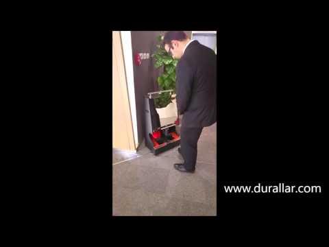 Ayakkabı Altı Temizleme Makinası ACM-107