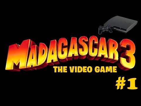 [PS3] Мадагаскар 3 прохождение - Серия 1 [Начальная тренировка]