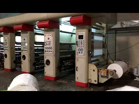 ARC 5 Drive Rotogravure Printing Machine