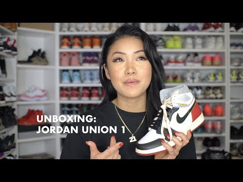 "NEW PICKUP UNBOXING: JORDAN x UNION ""BLACKTOE"" 1 