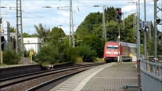 preview picture of video 'Eisenbahnverkehr in Lüneburg'