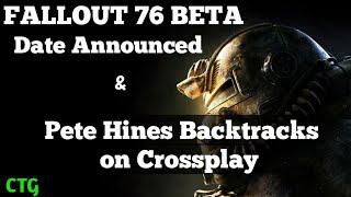 Fallout 76 BETA Date Announced