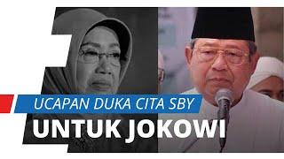 Ucapan Duka Cita SBY untuk Alm. Ibunda Presiden Jokowi, Kenang saat Terakhir Bertemu