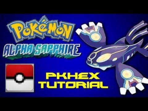 Max All Items Cheat Pokemon XY / ORAS - PKHex Tricks