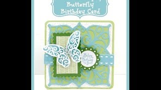 Close To My Heart Art Philosophy Butterfly Birthday Card