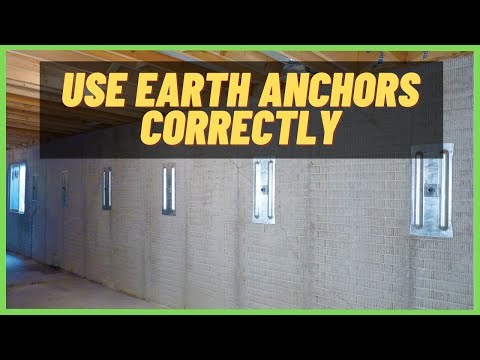 🐊 Earth Anchor Systems- When To Use Them | Foundation Repair