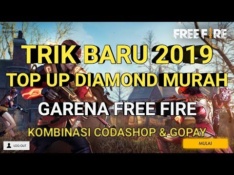 New 2019 PROMO TOP UP MURAH Game FREE FIRE DENGAN CODASHOP & GOPAY