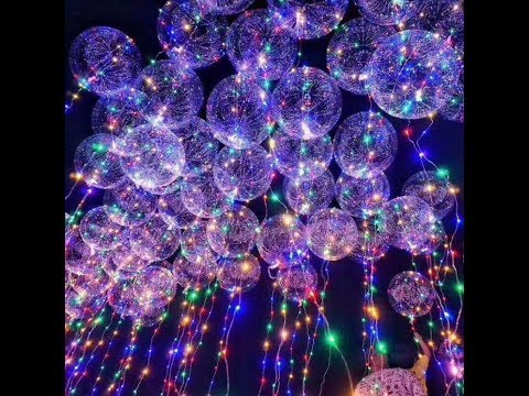 LED FLY BALLOONS/Ballons with Helium