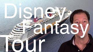 Disney Fantasy Review - Full Cruise Ship Tour  - Disney Cruise Line