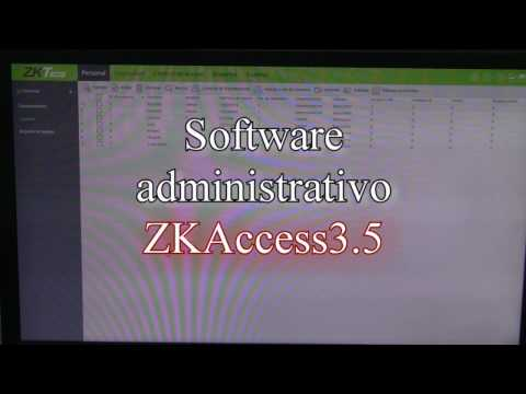 ZKAccess3.5 (Software)