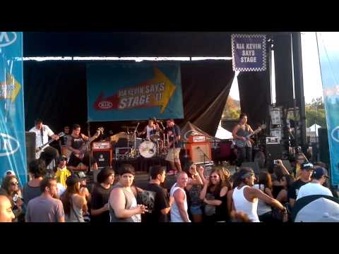 Son of Ares - Earth's Cry Heavens Smile live @ Warped Tour SD 2011
